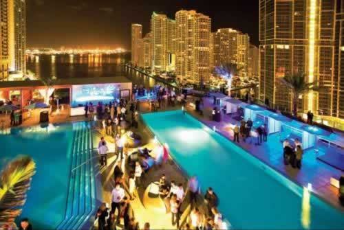 Epic Miami Kimpton Hotel Pool 2