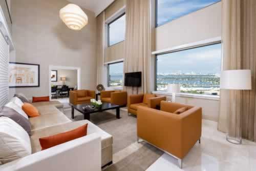 Intercontinental Miami Bedroom Suite