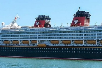Disney Wonder from Port Miami to the Caribbean
